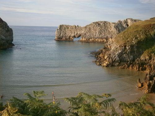 beach asturias cantabrian coast