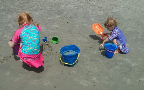 beach sand kids