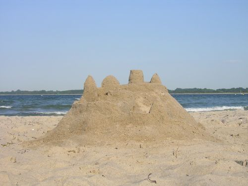 beach sandburg sand sculpture