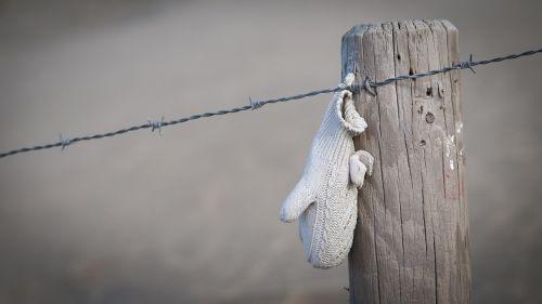 beach winter glove