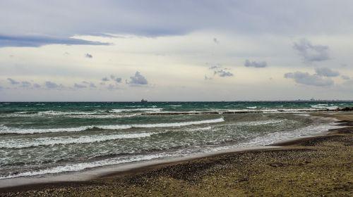 beach sea waves