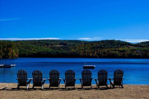 beach lake chairs