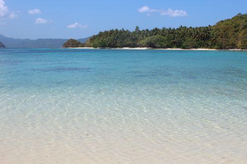 beach sea paradise