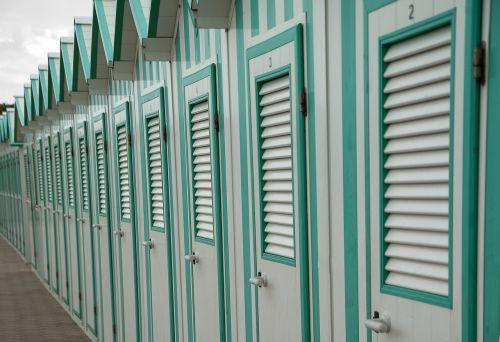 beach cabins sea baths