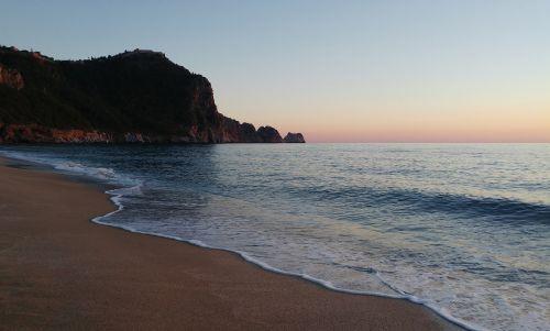beach alanya antalya