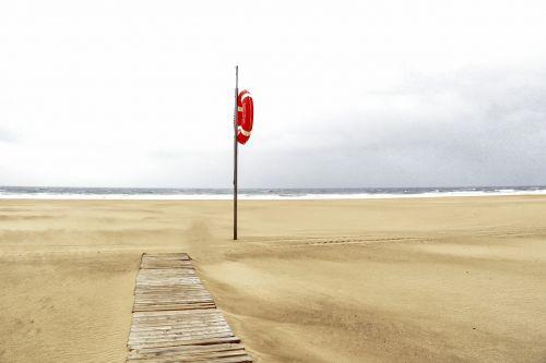 beach portugal lifeguard