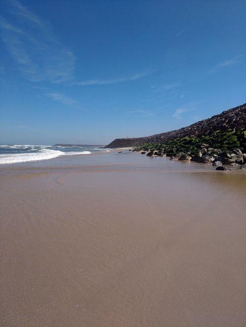 beach rocks portugal
