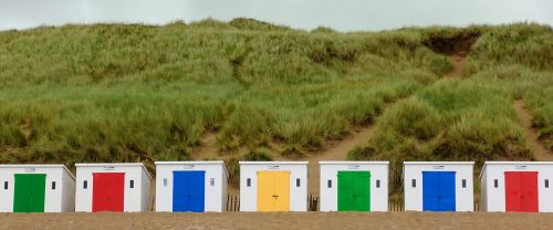 beach hut seaside
