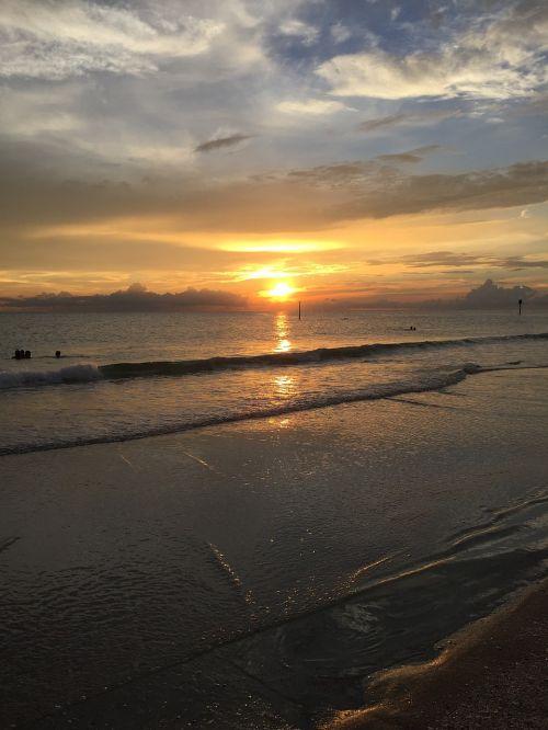 beach sunset sunset beach