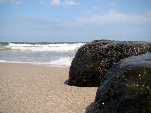 beach breakwater sea