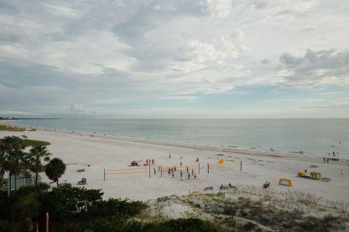 beach white sand