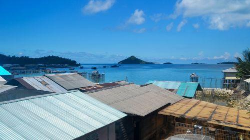 beach island indonesia