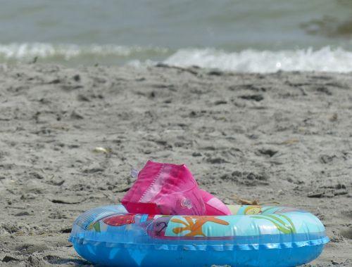 beach bathing buoy