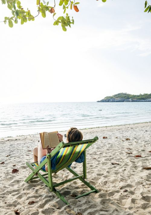 beach book calm