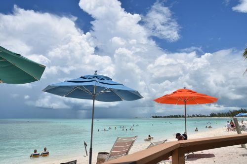 beach umbrella summer