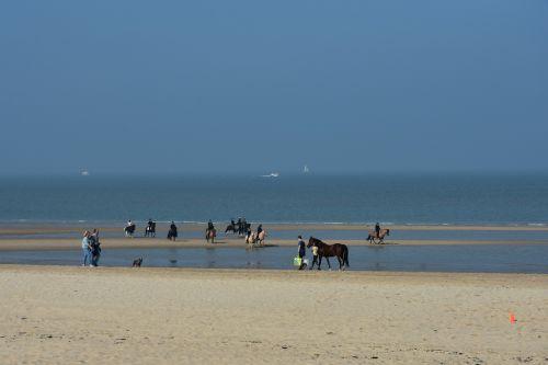 beach reiter north sea