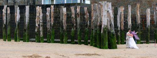 beach port wedding