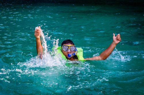beach dive diving