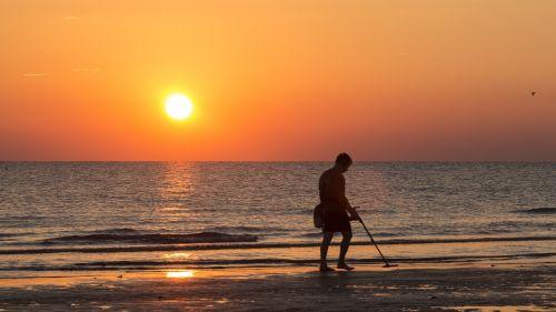 beach sunrise sea