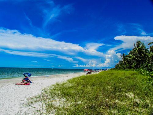 beach naples ocean