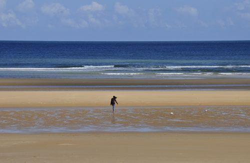 beach omaha beach sea