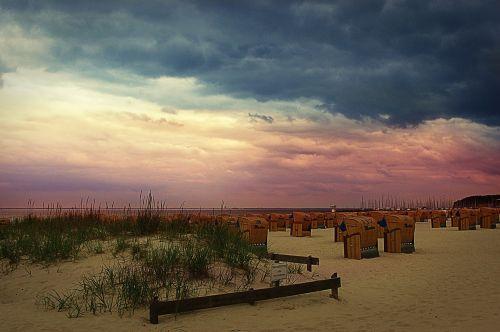beach baltic sea hohwacht