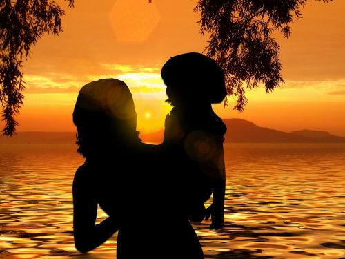 beach sun sunset