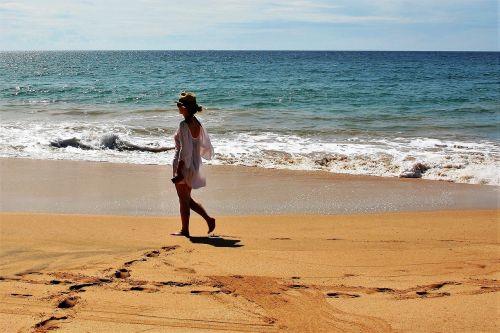 beach sand sea