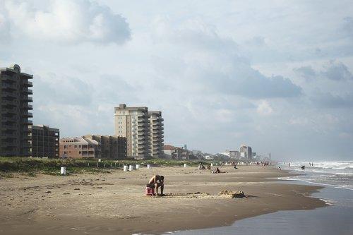 beach  ocean  loneliness