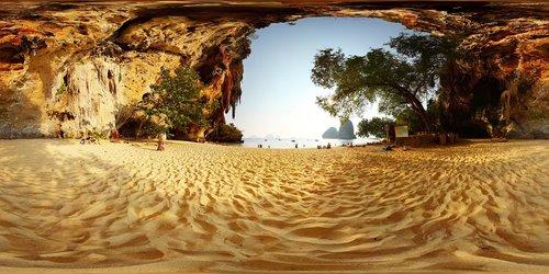 beach  mountain  360