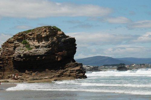 beach  lugo  ribadeo