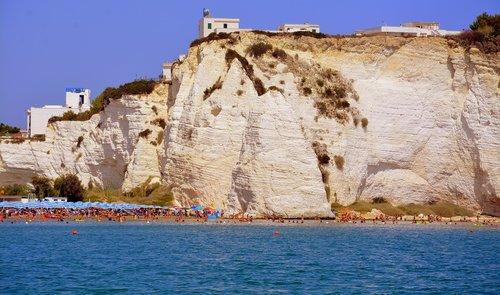 beach  rock  sea