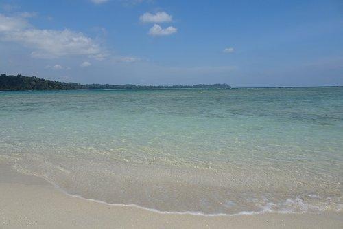 beach  bay  sea