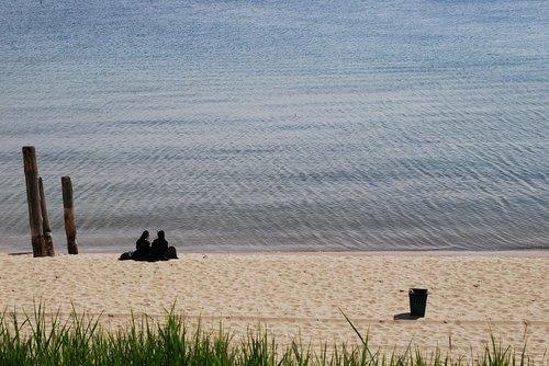beach  sea  nuns