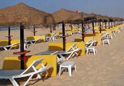 beach portugal sand