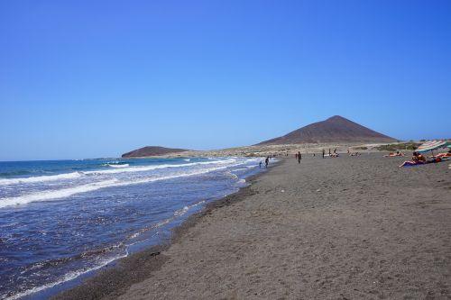 beach medano beach tenerife