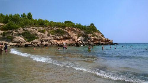 beach costa shore