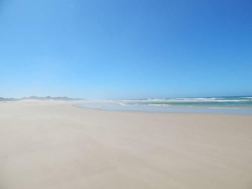 beach deserted sand