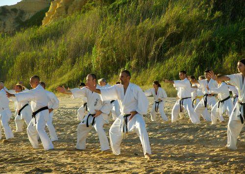 beach sports karate