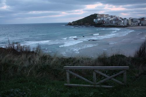 beach galicia sea