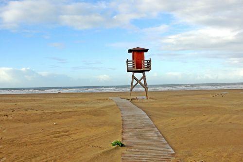 beach huelva sand