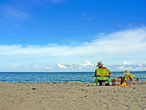 beach sea miami