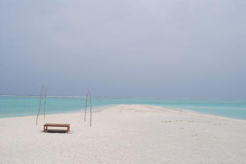 beach deserted beach sand