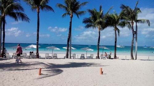 beach white sand boracay