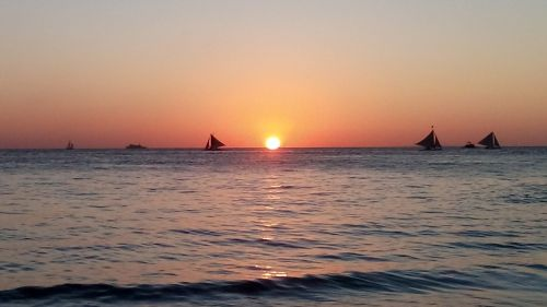 beach sunset philippines