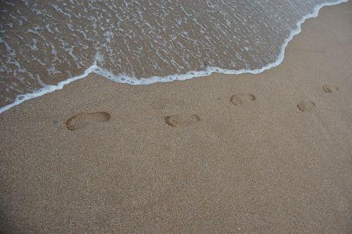 beach sand not