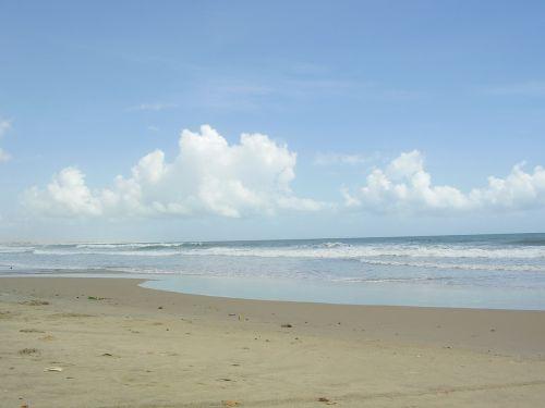 beach mar sky