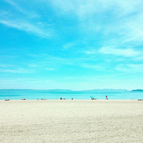 beach sun sea