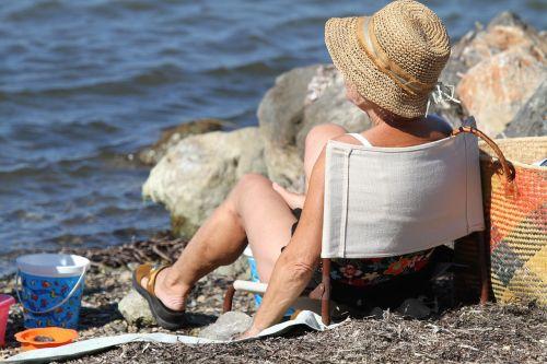 beach relaxation summer