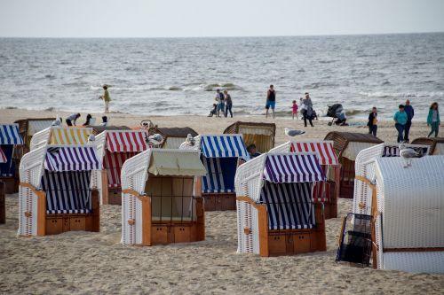 beach trash wicker baskets